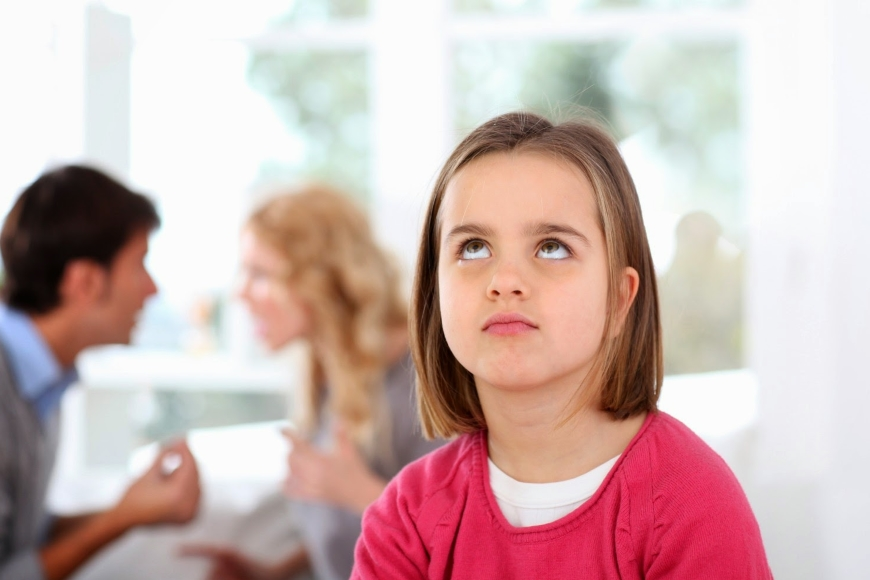 общение ребенка с родителями при разводе